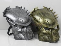 alien paintball mask - HOT Predator face Mask Cospaly paintball horror Halloween Costume Ball Aliens Masks Colors Choose