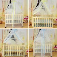 baby wasps - Baby Crib Cot Insect Mosquitoes Wasps Flies Net For Infant Bed Folding Crib Netting Child Baby Mosquito Nets VT0111 Salebags