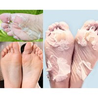Wholesale 2015 Hot selling Milk Bamboo Vinegar Dead Skin Remove Foot Skin Smooth Exfoliating Feet Mask