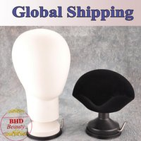 Wholesale Styrofoam Mannequin Manikin Head Sucker Stand for Wig Toupee Display Styling