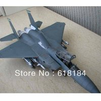 airplane eagle - Free shipment Paper Model airplane diy toys cm long US F15E Strike Eagle aircraft military crafts d puzzles for adults