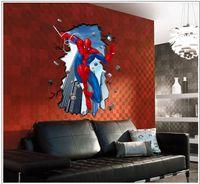 Batman Wall Stickers Uk Wall Murals Ideas - Spiderman wall decals uk