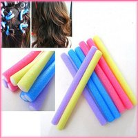 air wigs - pieces Hair Curling Flexi rods Magic Air Hair Roller Curler Bendy Hair Sticks random colors