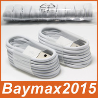 Wholesale 1M Ft Micro V8 Sync Data USB Cable Charging Cords Charger Wire Line for Samsung Galaxy S2 S3 S4 S6 Edge Sony LG HTC Nokia All Phones