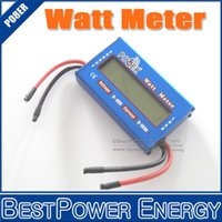 amp hour meter - DC V Watt Meter A Power Meter Energy Meter Amps Amp Hour Tester Checker