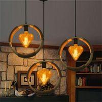 antique lampshades - E27 W Warm White Vintage Antique Filament Light Bulb Retro Industrial Style Edison Lamp Clear Glass Lampshade decorative light