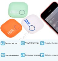 Wholesale Nut Intelligent Bluetooth Anti lost Tracking Tag Colorful Alarm Patch Colors