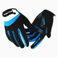 Wholesale WOLFBIKE Windproof Outdoor Sports Gloves Tactical Mittens for Men Women in Winter Feel Warm Bicycle Cycling Motorcycle BST