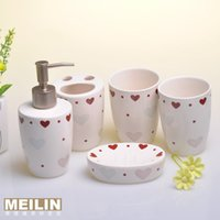 Cheap Five-piece fitted bathroom soulmate modern fashion minimalist style is particularly useful household items