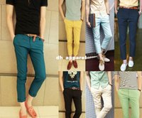 army style boots - European style mens leisure chino pants