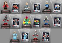 baby age blocks - 8pcs set D852A H The Avengers Age of Ultron Super Hero figures blocks sets brick baby toys