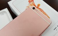 Wholesale clone Rose gold Goophone i6s Plus real G LTE Fingerprint quot MTK6735 mtk6582 bit i6s DHL free