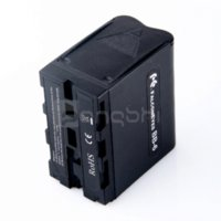 battery powered led video lights - 6pcs AA Battery Case Pack Power as NP F970 for Led Video Light Panel battery case aaa