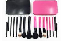 best brushes for blush - Best Christmas Gift set Professional Makeup Brushes New Foundation Powder Eyeshadow Blush Cosmetic Brush Box for beauty