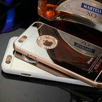 Wholesale iphone Plus Luxury Diamond mirror surface Case Cover for iPhone Plus