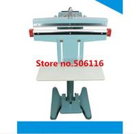 Wholesale Foot Pedal Impulse Sealer heat sealing machine Plastic Bag sealer DUAL TOP BOTTOM HEAT mm inch PEDAL SEALER