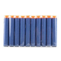 Wholesale 100 Toy Gun Refill Darts Sniper Bullet Blaster With Soft Sucker For Nerf N Strike Mega Centurion
