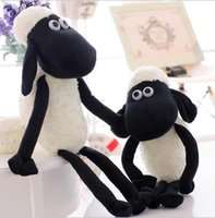 sheep plush - 30pcs stuffed animals black sheep plush toys cm Shaun the sheep cute soft plush dolls small sheep toys gifts