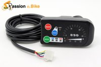 Wholesale passion ebike Top Quality V V V Electric Bicycle LED Control Panel Display Electric bike Parts