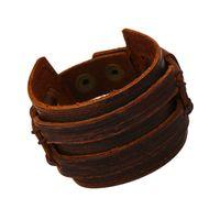 avant garde jewelry - Personality Avant Garde Leather Bracelet With Retro Leather Bracelet Jewelry