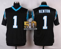 Wholesale Cam Newton Football Jersey With Super Bowl Patches Elite Blue Football Jersey Cheap Football Shirts Authentic Football Uniform
