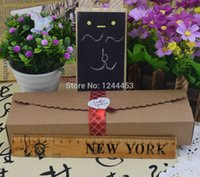 Wholesale cm Hot Sale Cardboard Box Macaron Packaging Caixa Kraft Paper Boxes Jewelry Cake Gift