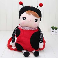 baby backbag - SALE Angela Backpack Child ladybird School Bag Children backbag Angela plush toys Metoo Rabbit dolls Baby girl