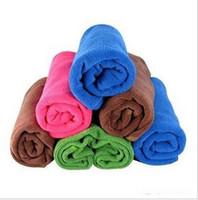 Cheap N60 New 2014 Microfiber Hair dry towel   Cleaning cloth Novelty households wipes steam mop bathroom towel Car care rag