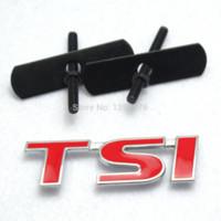 Wholesale TSI Front Grill Grille Logo Emblem Badge Decor For VW Golf Jetta Skoda Polo CC M26726
