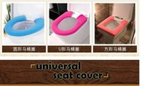 toilet seat - 2 Toilet Seat Cover Square Circle Universal Suitable Toilet Seat Wc Candy Color Comfortable Seat Cover Easy To Dismantle
