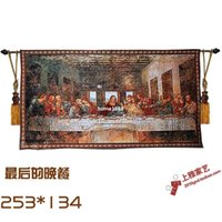 wall hanging tapestry - The Last Supper Pictures Cotton High Quality Wall Tapestry Moroccan Decor European Decorative Hanging Wall Tapestries Gobelin