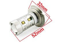bentley continental - new auto led H7 White W Genuine Cree XB D SMD LED Fog DRL Light High Power