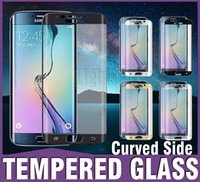 For Samsung screen - 2016 MM Galaxy S7 edge Full Screen Protector Tempered Glass S6 edge Plus Cover Whole Screen Curve Screen Protector With Retail Package