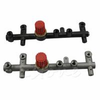 air regulator gauge - New colors Pressure Manifold Regulator Bracket Stand Support For Air Compressor Gauges