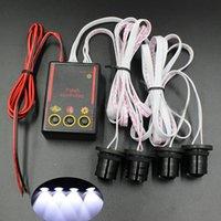 Wholesale Car Truck W Strobe Emergency Warning Flash Eagle Eye Light Headlight White Color