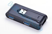 Wholesale Hot Selling New Portable High speed Ports USB External Hub Adapter for PC Laptop Black SV006323