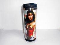 best wonder woman - New Diy American Wonder Woman Mug Coffee Cup Water Cup Travel Cup Drinkware CM OZ Creative Cup Best Gift