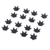 Wholesale Ultra Thin Easy Replacement Golf Shoes Spikes Cleats Black