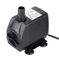 Wholesale 220 V L H W Practical Aquarium Water Pump with Two Outlet Connectors Fountain Pond Fish Tank Pump Powerhead UK Plug