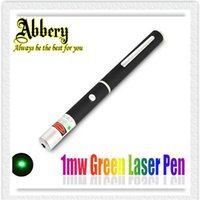 Wholesale Hot Sale MW Green Laser Poniter Pen mw Green Laser Pointer Pen Beam SOS Mounting Night Hunting teaching Xmas gift factory Supplier DHL