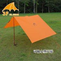 awnings fabric - f ul gear multifunction raincoat with silicon camping coating D ultralight awning groundsheet mini sunshelter waterproof tarp