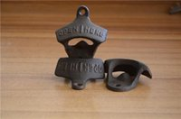 advertising ideas - Wall hung beer bottle opener Cast iron bottle opener Advertising bottle opener The idea of beer bottle opener