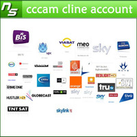 Wholesale CCcam Cline account for year validity for sky UK Germany Italy Spain canal support cccam receiver free trial