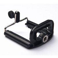Wholesale Universal Mobile Phone Clip Holder mount bracket Adapter For Smartphone camera cell Phone Tripod stand Mount Adapter