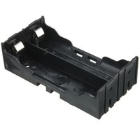 Wholesale 10pcs x40x24mm Useful ABS Plastic Storage Box Case Holder For x V Rechargeable Batteries W Pins Contact