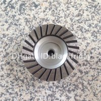Wholesale Turbo Diamond Wheel Cup inch Aluminum Back Silent Core Grinding Disc for Granite Stone Coarse Abrasive Wheel
