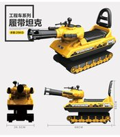 Wholesale Children walker excavator engineering vehicle can sit and ride baby stroller toy scooter excavator