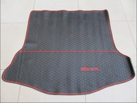 Wholesale environmental specialty trunk mats rubber latex rugs case for Ford focus fiesta