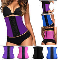 Wholesale Hot sales Waist Training Corsets Waist Trainer Cincher Sport Body Shapers Girdle Steel Boned Rubber Underbust Shaperwear Top quality