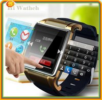 big dial phone - 1 inch big screen watch phone quality Hi Watch L18 smart watch with fm pedometer bluetooth TF card slot